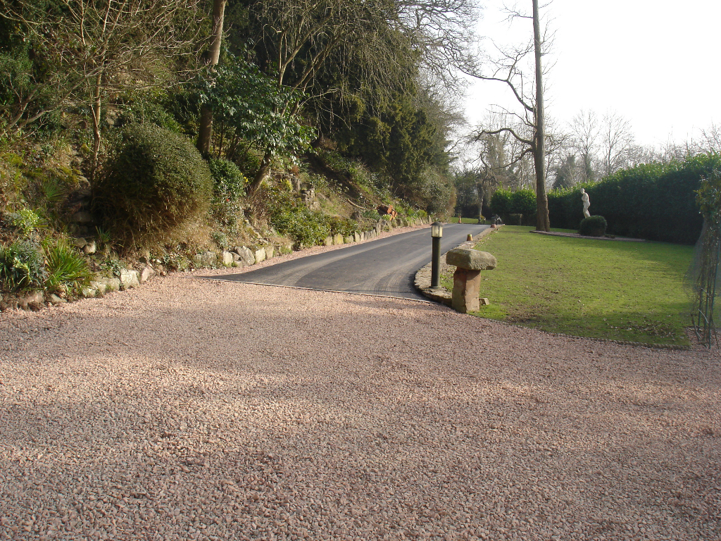 Tarmac Drive And Gravel Parking Area Hereford Pave Your Way