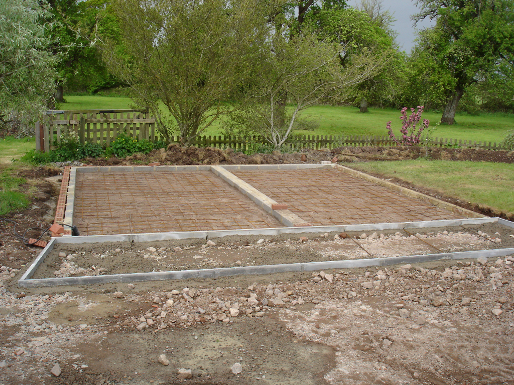 timber framed building base preparation pave your way