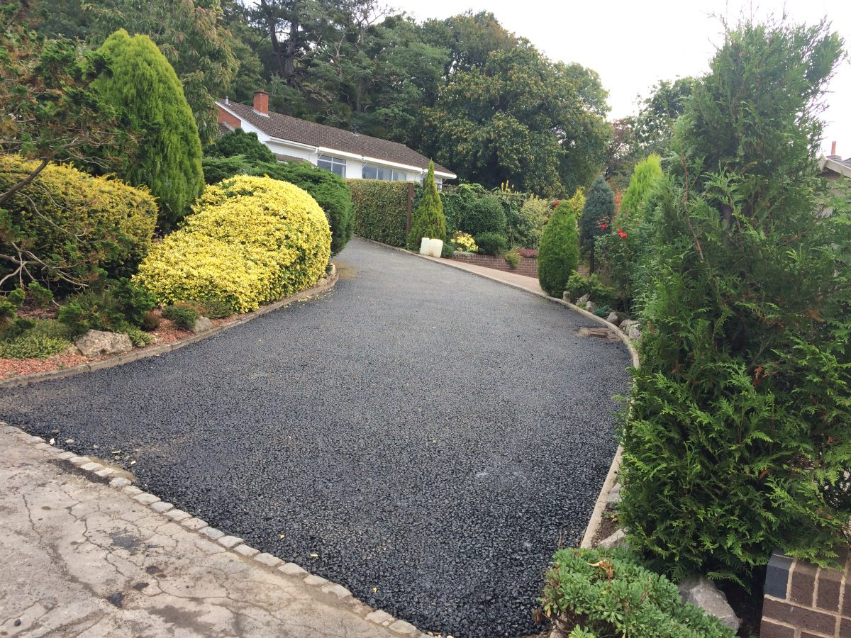 Resurfacing Large Tarmac Drive Walled Gardens Ledbury