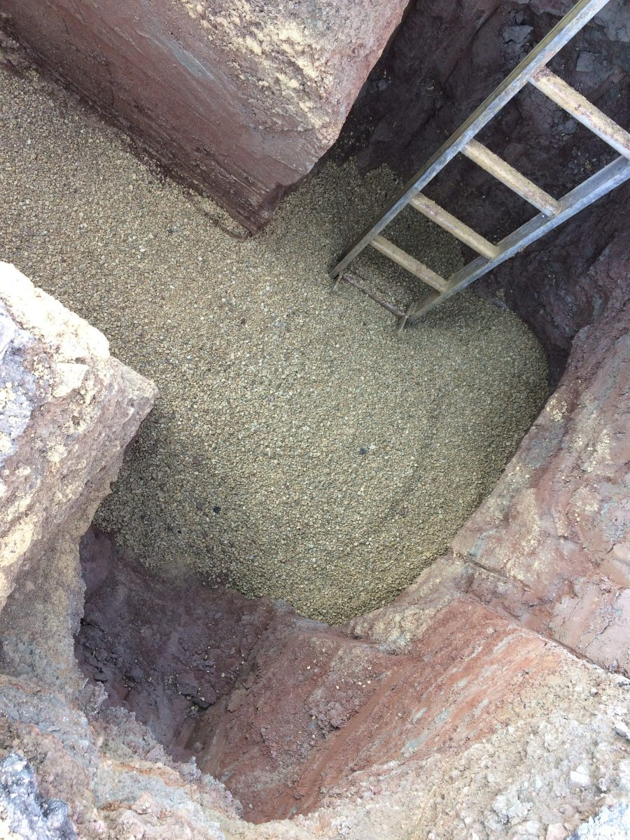 New Sewer Connection Hanley Castle Worcestershire Pave