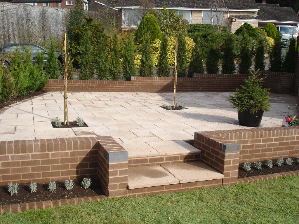 All new garden, walls and patio in ledbury - Pave Your Way on Garden Patio Wall Ideas id=14824