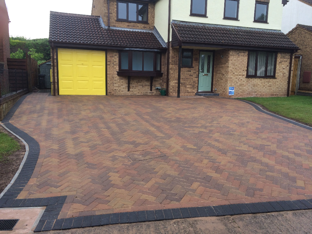 New Block Paved Driveway In Deer Park Ledbury Pave Your Way